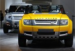 Two Land Rover Defender Concept Vehicles