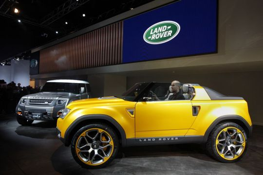 Two Land Rover Defender Concept Vehicles Unveiled At Frankfurt Motor Show