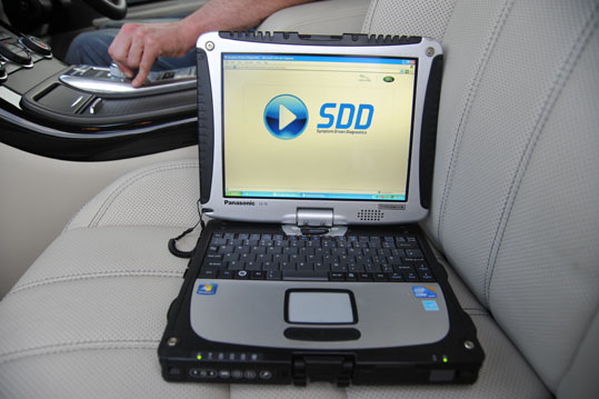 Latest Land Rover Diagnostic System SDD2