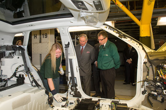 Land Rover Announce Support For Rural Communities During Royal Visit