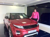 All geared up for the new Range Rover Evoque
