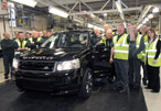 Land Rover Celebrates Production Of The 300,000th Freelander 2