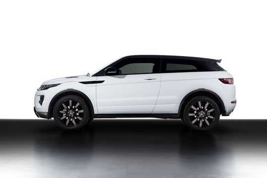 Land Rover Launch New Evoque Black Design Pack