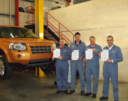 Technicians trained on the All-New Freelander 2